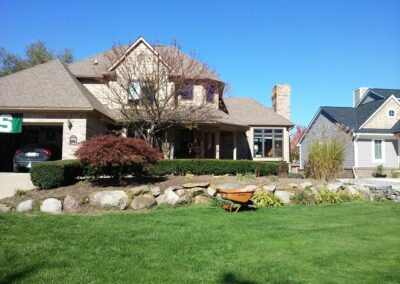 landscaping and lawn mowing services Troy, MI