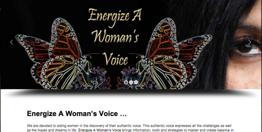 Energize A Woman's Voice by Your Trusted Advisors Net