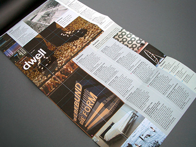 Dwell Magazine, Calendar Section