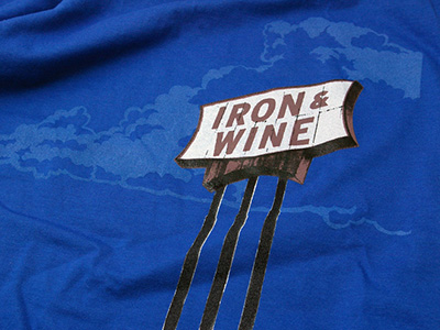 Iron and Wine T-shirts