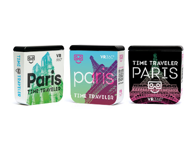 Time Traveler Packaging