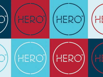 Hero Brand Communications Identity