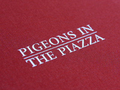 Pigeons in the Piazza