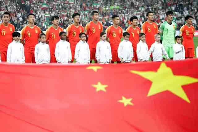 จีนต้องการเป็นมหาอำนาจฟุตบอล