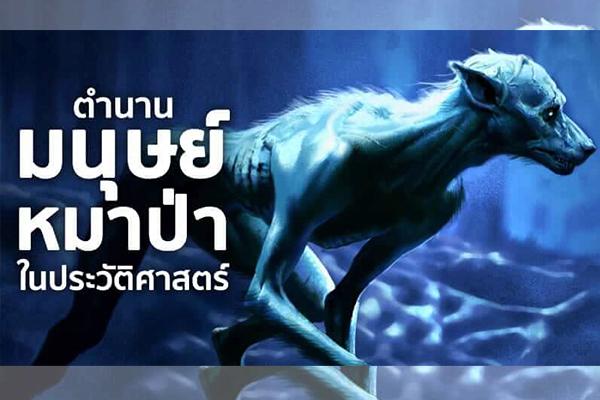 ตำนานมนุษย์หมาป่า ข่าวน่ารู้ อัพเดทสถานการณ์ เรื่องเล่า สาระความรู้ คู่ความบันเทิง