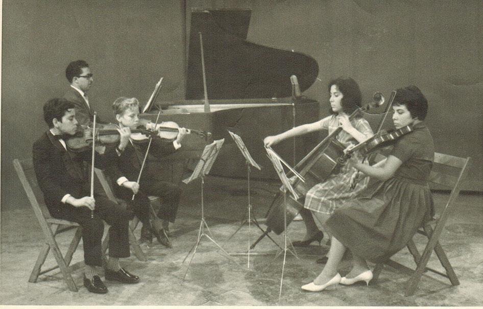Brothers Diemecke Quartet, Ca. 1963