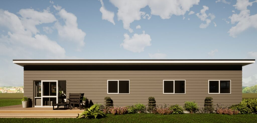 3 bedroom transportable home from Exeter Homes