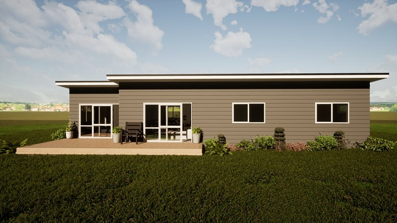 Four bedroom two bathroom transportable home