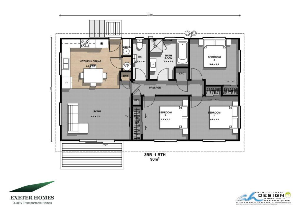 3 bedroom new home