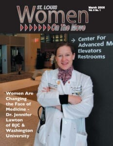 St. Louis Women On The Move March 2006 issue magazine cover