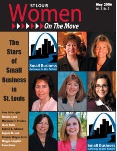 St. Louis Women On The Move May 2006 issue magazine cover