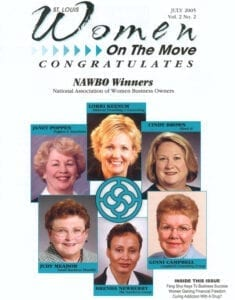St. Louis Women On The Move Congratulates NAWBO Winners magazine cover