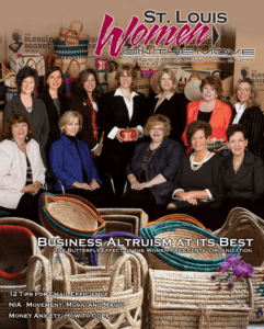 St. Louis Women On The Move Business Altruism at Its Best magazine cover