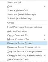 Skype for business manage delegates