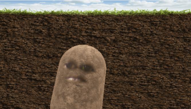 how to turn into a potato on microsoft teams