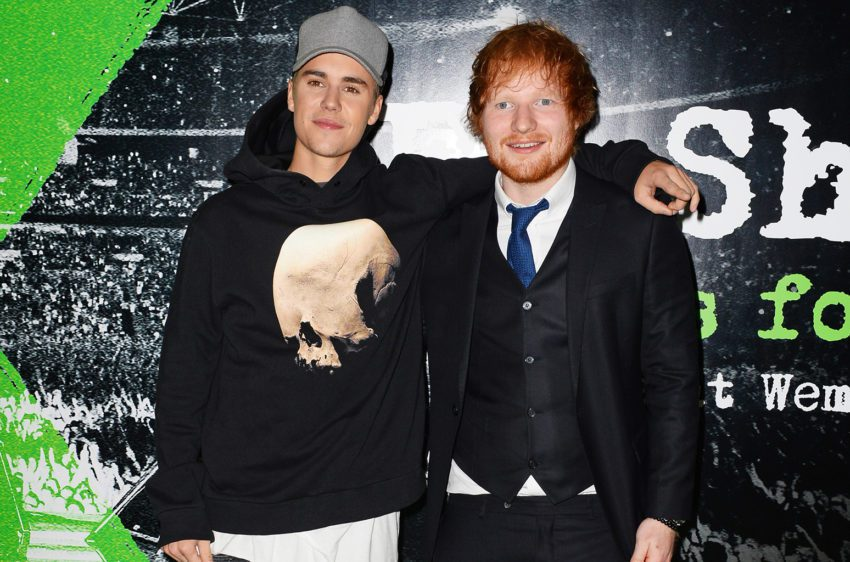 """Justin Bieber And Ed Sheeran's Highly Anticipated Collaboration """"I Don't Care"""" Has Arrived"""