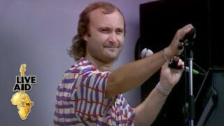 Phil Collins – Against All Odds (Live Aid 1985)