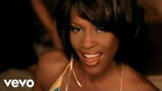 Whitney Houston – Could I Have This Kiss Forever (Official Video)