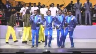1985 The Temptations VS Four Tops on Motown Return To The Apollo