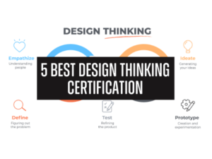 best design thinking courses & certifications