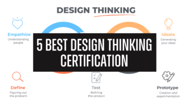 Photo of 5 Best Design Thinking Certification & Course [2020]