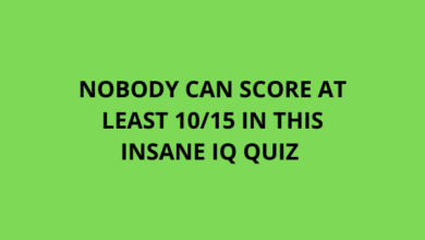 Photo of Nobody Can Score At Least 10/15 In This Insane IQ Quiz