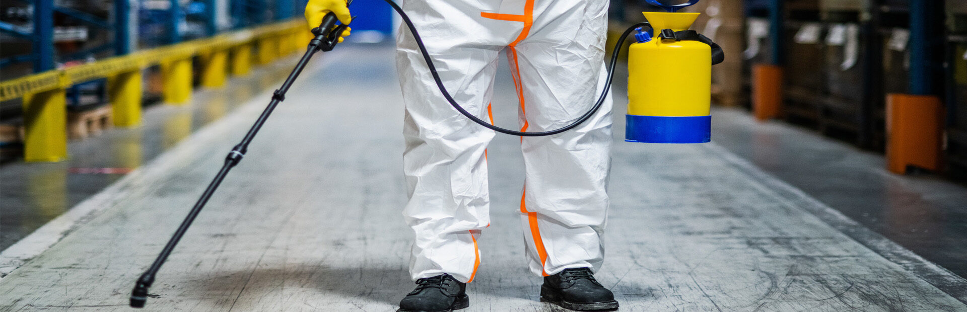 disinfectant & bacteria spraying