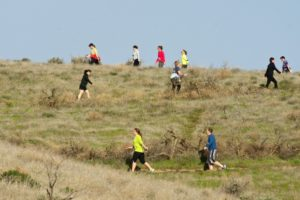 Badger Mtn Challenge 15k walkers