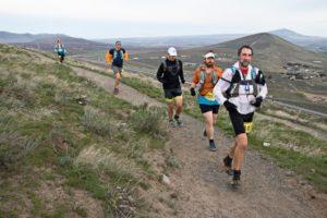 Badger Mountain Challenge 50k runners