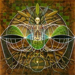 """Sine Series # 3: Anthrogenesis"" by Matt Beard | Original Painting: $3,600"