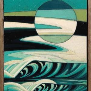 """Lunar Haze"" by Erik Abel"