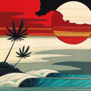 """""""Sunset Moonrise # 2"""" by Erik Abel"""