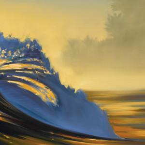"""""""Blue Lip"""" by Wade Koniakowsky"""