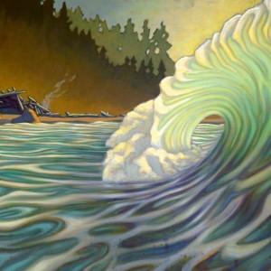 """The Shack"" by Matt Beard   Limited Edition Canvas Print: $375"