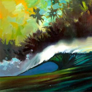 """""""Pitching Wave"""" by Wade Koniakowsky"""