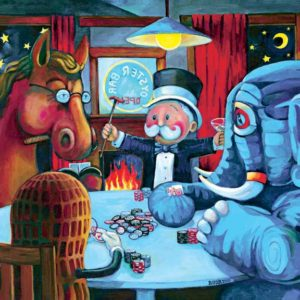 """Poker Players"" by Jon Baker"