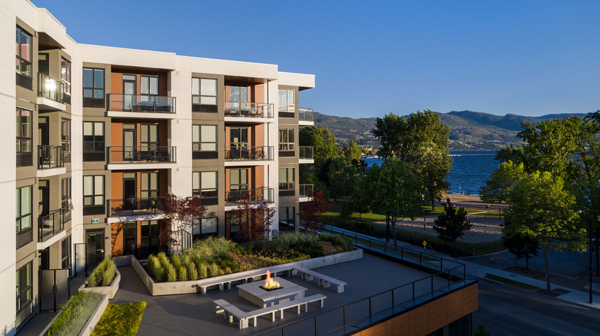 The vacation you deserve on the shores of Okanagan Lake! Fully Furnished Suites Available.