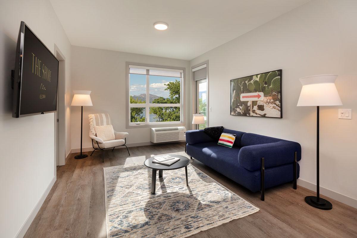 2 bedroom suite The Shore Kelowna