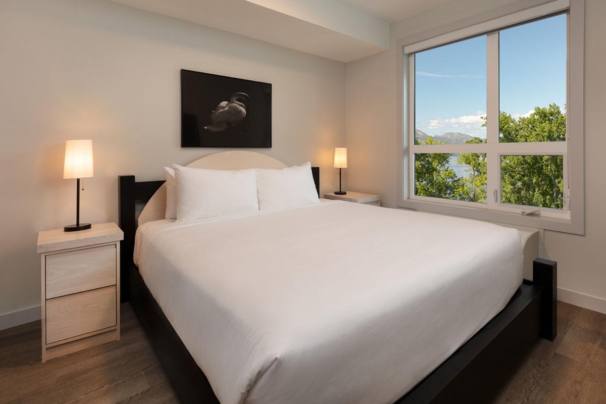 Luxury suites on Lakeshore road in Kelowna