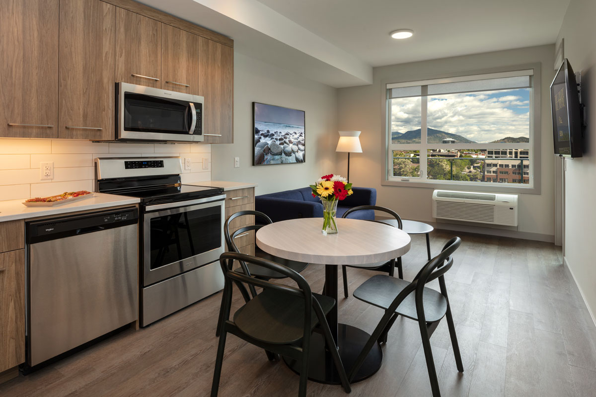 1 bedroom furnished luxury suite