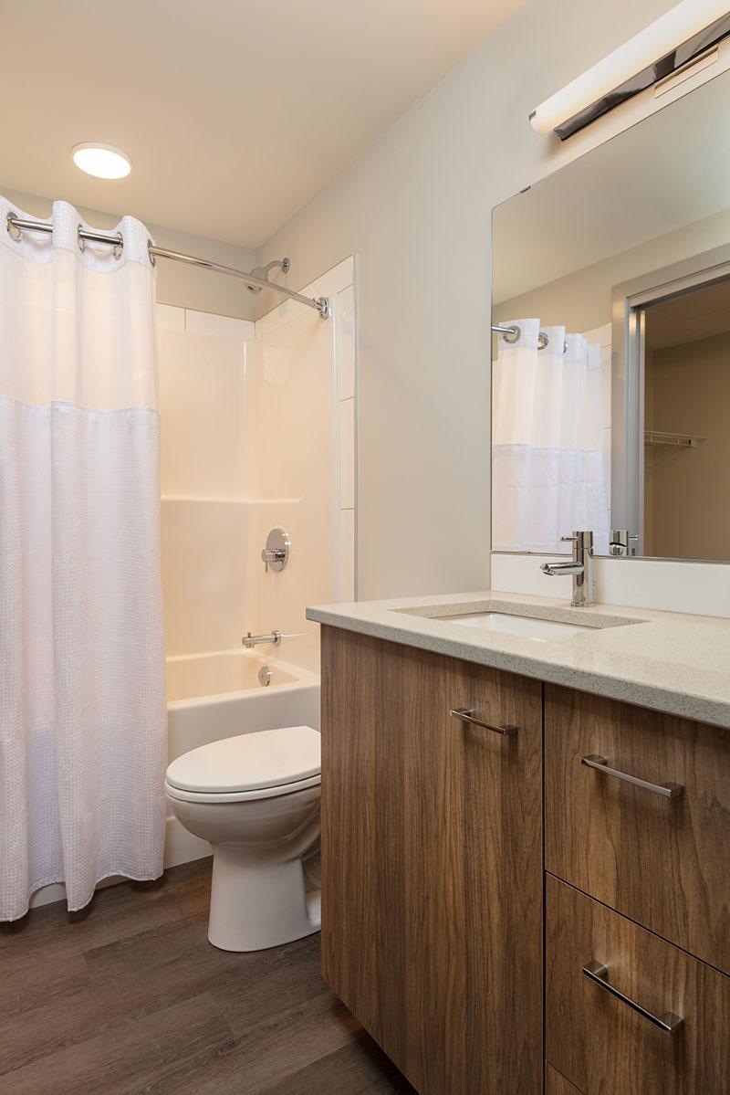 The Shore Kelowna Luxury Bathroom