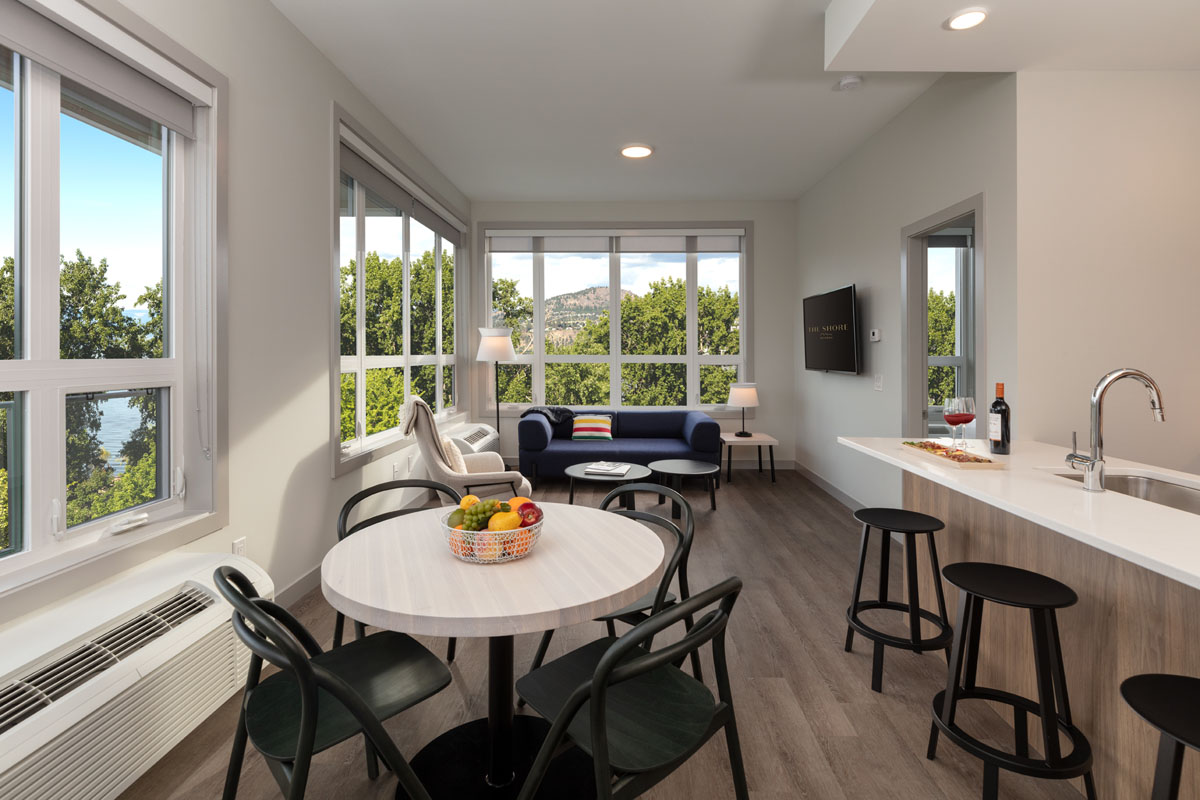 Fully furnished suites in Kelowna