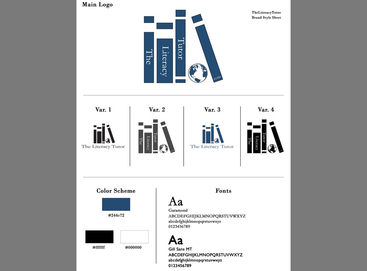 The Literacy Tutor Portfolio Project James Wieland Front End Dev