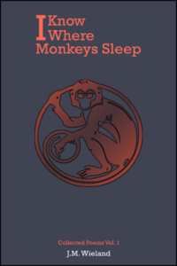 i know where monkeys sleep poetry by james wieland
