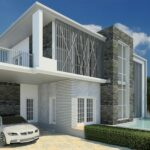 Revit Complete Project #8 | Modern House Design In Revit (Timelapse )