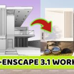 Revit+Enscape 3.1 – Exterior Render Tutorial – Workflow #13