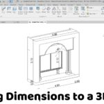 Revit Tutorial – Adding Dimensions to a 3D View
