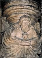 Melchizedek with Holy Grail, Rosslyn Chapel