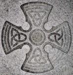 Templar Cross Gravestone St. Mary's Church, Fortingall