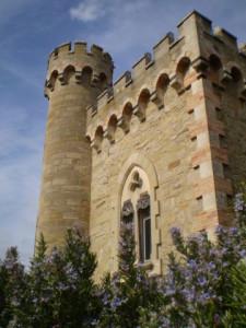 Tour Magdala, Rennes le Chateau France, photo A. Williams